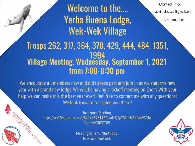 Wek Wek Village Informational Flyer Sep 2021
